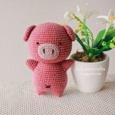 Amigurumi Pig – Free Pattern