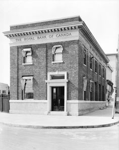 RBC building, Marpole, Vancouver, May 1928