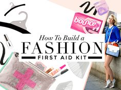 how to build a fashion first aid kit
