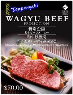 Wagyu Beef Promo