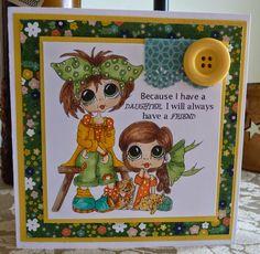 Bestie card by Cheryl Moody