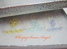 Swarovski Elements Necklace and Earring Set by WhispySnowAngel