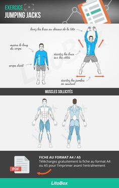 jumping jacks exercice musculation : technique