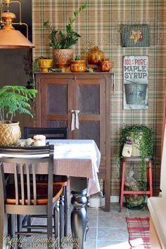 Christmas+-+kitchen+-+rustic+-+country+-+primitive+-+thrifted+-+vintage+-+decor.JPG (JPEG Image, 600 × 900 pixels)