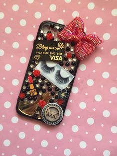 A personal favorite from my Etsy shop https://www.etsy.com/ca/listing/558549088/iphone-8-bling-cell-phone-case-decoden