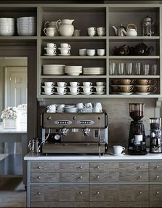 Coffee corner perfection ... this takes it to a whole other level.