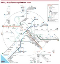 Bus Map Central Rome