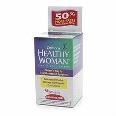 Healthy Woman Soy Menopause Supplement, Tablets 45 ea by EMERSON HEALTHCARE. $7.26. Made with OPTISOY® an Optimized Soy Extract Healthy Woman® Soy Menopause Supplement works because of OPTISOY®, a unique soy extract formula that has been specifically designed for the needs of menopausal woman.* OPTISOY® has been optimized to deliver an effective dietary level of soy extract concentrated in just one tablet.  Healthy Woman® Soy Menopause Supplement, the brand trus...