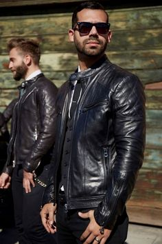 3a9ec78e2 302 Best leather jacket men outfit, formal style images in 2019 ...