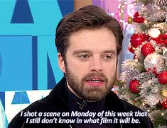 Sebastian ⭐ Stan || Good Morning America (Nov.29, 2017) They tell him nothing now.