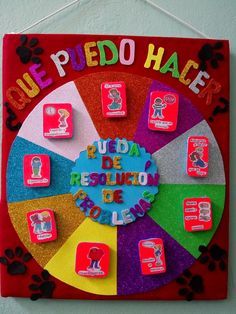 Soluciones de conflictos Peace Education, Preschool Education, Preschool Activities, Back To School Bulletin Boards, Reading Anchor Charts, School Items, Class Decoration, Yoga For Kids, School Counseling