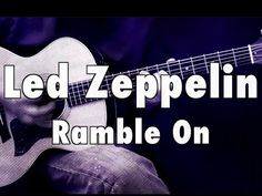 How To Play - Led Zeppelin - Ramble On - Acoustic Guitar Lesson - Part 1 Guitar Notes, Guitar Tabs, Guitar Chords, Music Guitar, Playing Guitar, Led Zeppelin Ramble On, Led Zeppelin Songs, Song Request, Acoustic Guitar Lessons