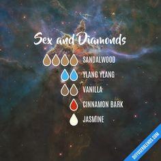 Sex and Diamonds - Essential Oil Diffuser Blend