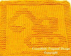 Knitting Cloth Pattern  TRAXCAVATOR  PDF  Instant by ezcareknits, $3.00