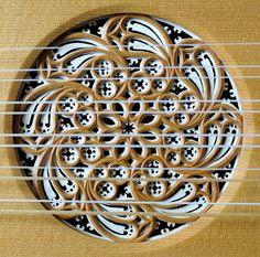 Rose of Vihuela ~ Instrument by Karl Kirchmeyer