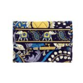 Euro Wallet in Ellie Blue: practical and in the gold and blue of my alma mater!