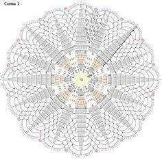 Anna Crochet Hungari added a new photo — with Haybe Krocret. Crochet Doily Diagram, Crochet Mandala Pattern, Vintage Crochet Patterns, Crochet Circles, Crochet Doily Patterns, Freeform Crochet, Crochet Round, Crochet Chart, Thread Crochet