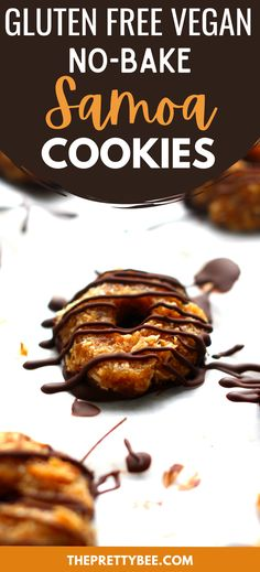 These are chewy, chocolatey, and so delicious! You will love these no bake samoa cookies. This grain free recipe is even tastier than the original!