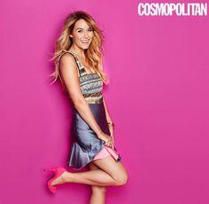 Lauren Conrad Fashion 2014 | Lauren Conrad Covers Cosmopolitan January 2014
