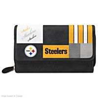 124087001 - Steelers For The Love Of The Game Wallet With Tea…