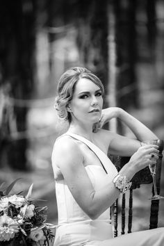 brisbane wedding photographer, bride, black and white portrait
