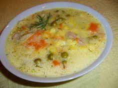 Zupa jarzynowa zarzucona zacierkami: Bardzo smaczna i szybka zupa:)