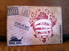 snail mail stamp. I want it.