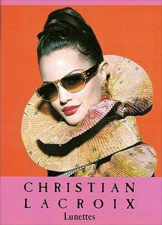 Christian Lacroix Ad: 1980s