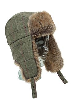 b04fb5c4907 Cherry Tree Country Clothing - Hoggs of Fife Caledonia Tweed Trapper Hat