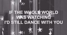 Dance with you. Dance Captions, Ig Captions, Instagram Captions Songs, Cool Lyrics, Music Lyrics, One Direction Lyrics, Dance With You, Song Quotes, Hopeless Romantic