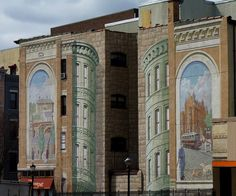 Murals in Downtown Yonkers 3d Wall Murals, World Map App, Home Of The Brave, Square Photos, Galleries, Collection, 3d Wall Art