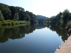 Saint Eulalie d'Olt en Aveyron Europe, France, Great Photos, Saint, Mirrors, River, Landscape, Outdoor, Beautiful