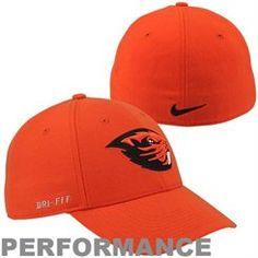half off 9d643 48f48 Nike Oregon State Beavers Dri-FIT Swoosh Flex Hat - Orange Athletic Shop,  Beaver