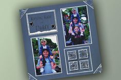 Family Love Scrapbook Layout