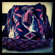 Mochila wayu Drawstring Backpack, Backpacks, Bags, Fashion, Tejidos, Accessories, Handbags, Moda, Dime Bags