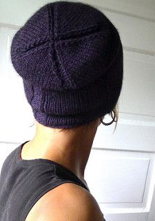 I have short fine hair that's easily smushed, but in a Boston winter you can't commute bareheaded. Kami's reversible slouchy cocoon shape holds in warmth but never inflicts hat head. It's a one-skein weekend project, ideal for unisex gift giving. The pattern pairs well with handspun or a soft Aran yarn like Yak.