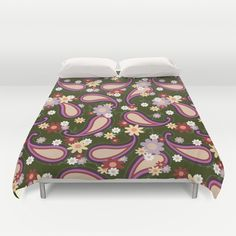 Flowery Paisley Duvet Cover Promoters - $99.00