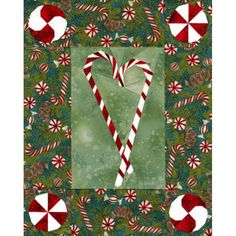 Peppermint Twists Quilt Pattern at equiltpatterns