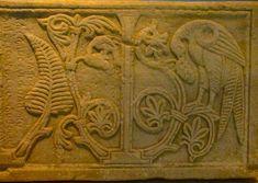Византия. Стёсаный историей крест. Византийские рельефы из музея в Салониках