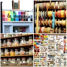 a great bead shop in Paris  I would so love to go there