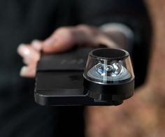 Kogeto DOT Video Lens for iPhone / The Kogeto DOT is not just a video lens for the iPhone, but a versatile application that allows you to shoot 360-degree interactive videos and instantly share them with your friends. http://thegadgetflow.com/portfolio/kogeto-dot-video-lens-iphone/