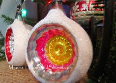 #Vintage #Ornaments  #Hoe and Shovel: Merry and Bright