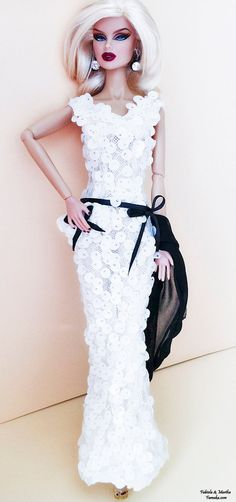 Black and White Fashion for Fashion Royalty and Silkstone Barbie.