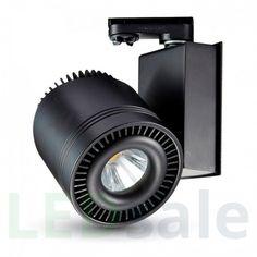 33W LED skinnelys med ekte farger
