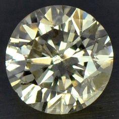 0.12 cts Natural Fancy Brown Diamond Round Cut Belgium
