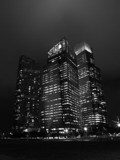 Singapore CBD by night.  By - Ritesh Tripathy