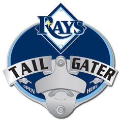 Tampa Bay Rays MLB Tailgater Hitch Cover