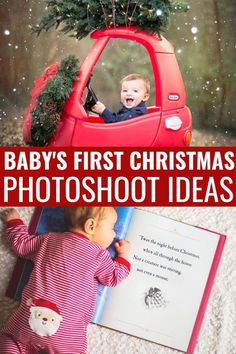 Baby's First Christmas Pictures Baby's First Christmas Pictures that you can DIY! Baby's first Christmas for both girls and boy is such a special time [. Newborn Pictures, Baby Pictures, Newborn Pics, Baby Photography Tips, Product Photography, Maternity Photography, Foto Picture, Diy Bebe, Foto Baby