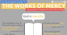 The Church gives us 14 Works of Mercy. Here's an Illustrated Guide explaining them.