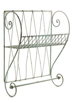 Shelf Improvement Wall Rack, #ModCloth oh man this would be perfect since we have no storage space in our bathroom and how tiny it is